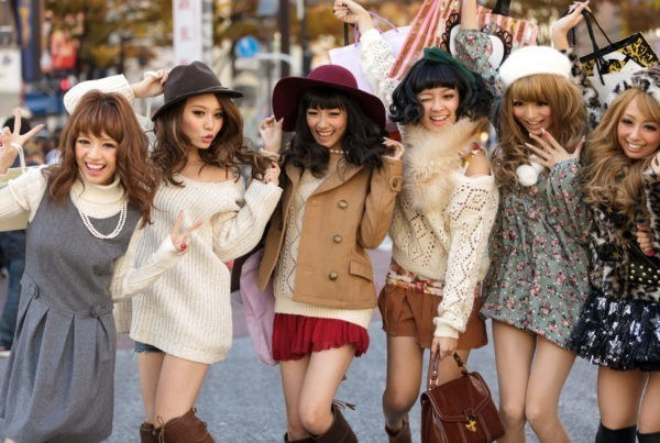 Japanese market fashion women