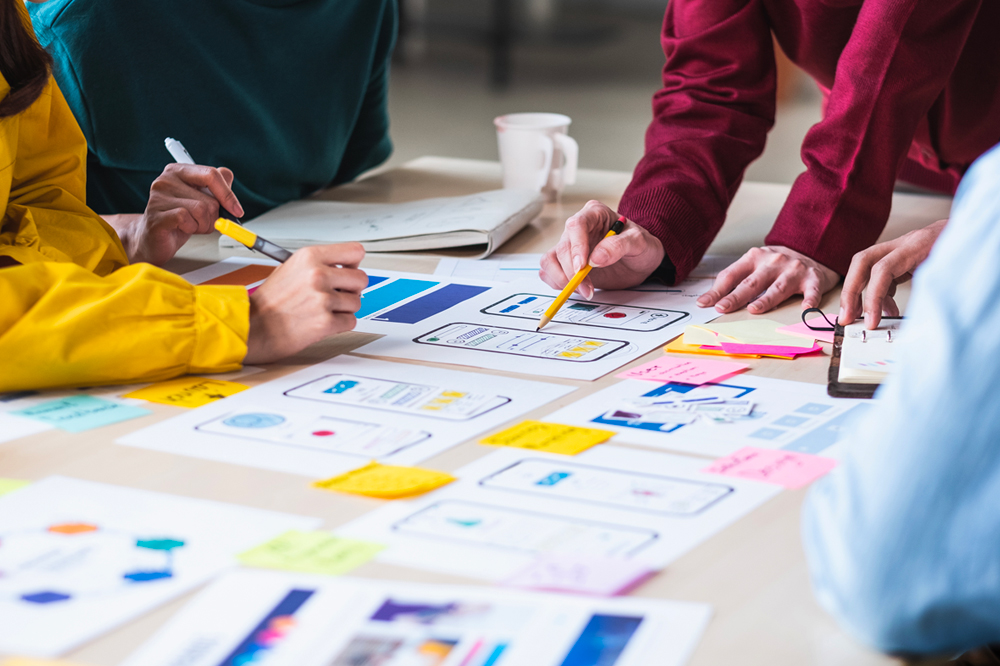 Group people UX design