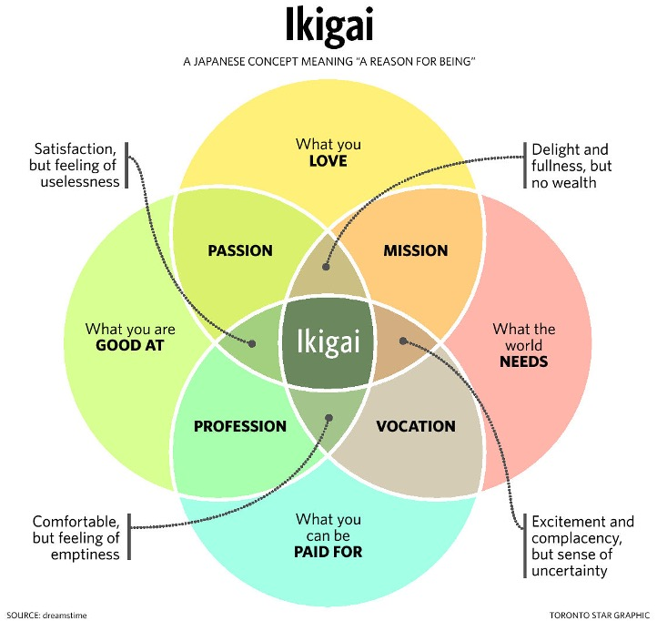 Japan Gets Serious About Ikigai