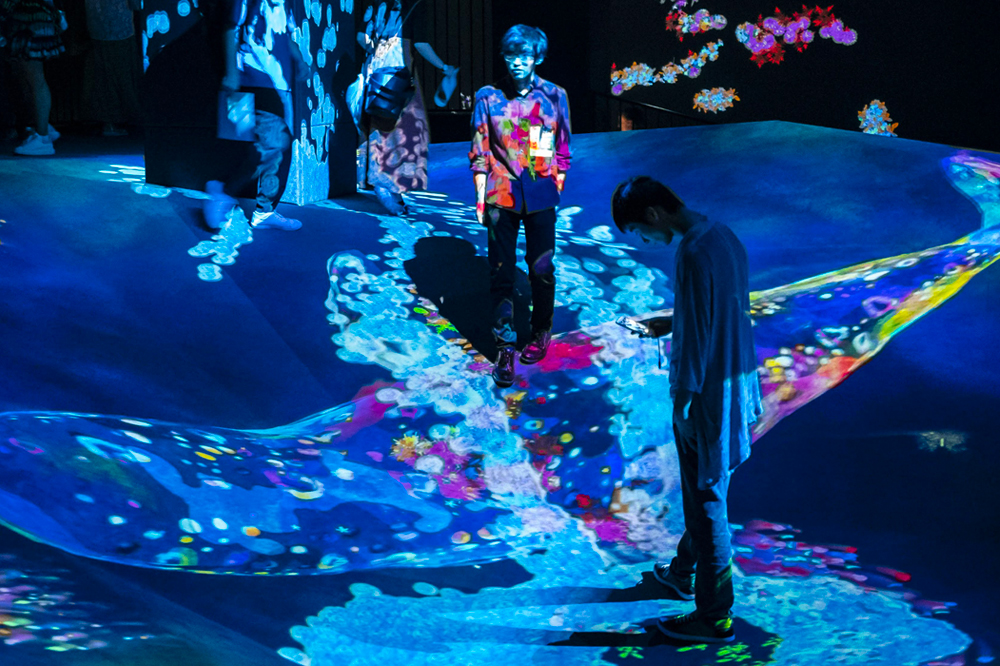 Japanese men teamlab digital