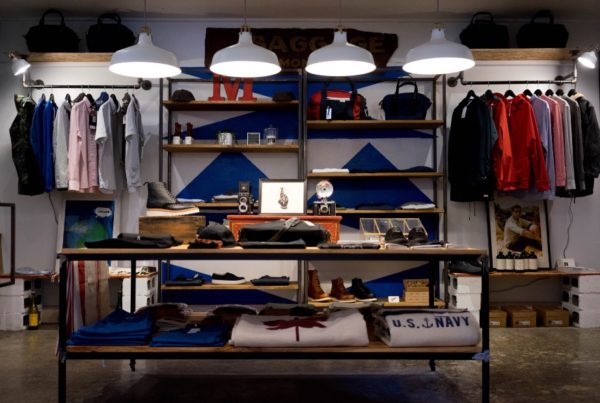 Luxury Apparel Brand Re-positioning and Retail Flagship Launch​