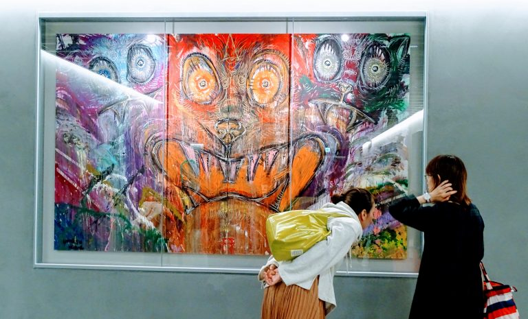 PARCO regularly hosts art exhibitions